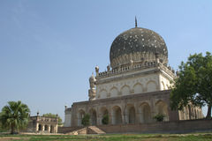 Tombes de Qutub shahi à Hyderabad Photo libre de droits