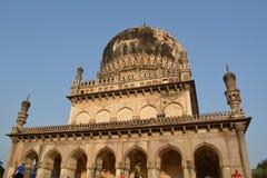 Tombes de Qutub shahi à Hyderabad Photos libres de droits