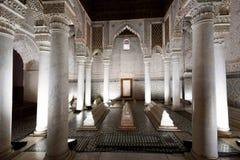 Tombes de Saadian à Marrakech Image stock