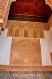 Tombes de Saadian à Marrakech Images libres de droits