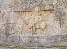 Tombes des rois d'Achaemenid dans Naqsh-e Rostam, Iran image libre de droits