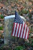 Tombes des vétérans Image stock