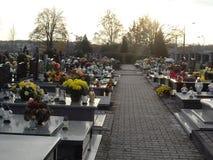 Tombes polonaises - Cimetière de Sandomierz Royalty Free Stock Image