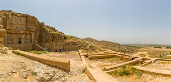 Tombes royales de Persepolis Photographie stock