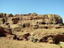 Tombes royales Petra Jordan Images libres de droits