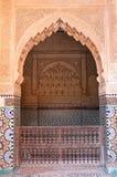 Tombes Sâadiennes à Marrakech Photos libres de droits