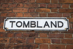 Tombland in Norwich Stock Photo