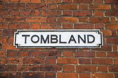 Tombland in Norwich Royalty Free Stock Photography