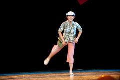 Tomboy Go to school--Folk Dance Royalty Free Stock Photos