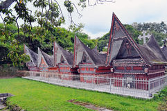 Tombs of the ancient Toba Batak kings Stock Images