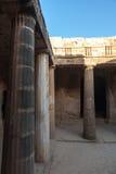 Tombs av konungarna Cypern Fotografering för Bildbyråer