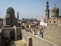 The tombs of the Caliphs . Cairo. Egypt. The tombs of the Caliphs and the city of the deads. Cairo. Egypt stock photo