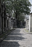 Tombs Cimetiere du Pere Lachaise Stock Photography