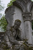 Tombs Cimetiere du Pere Lachaise Stock Photo