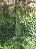 Tombs and crosses at goth cemetery Royalty Free Stock Images