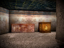 Tombs of Egypt 2. Tombs of the great pharaoh Royalty Free Stock Photography