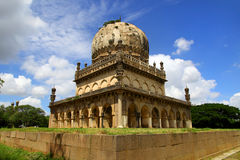 Tombs in Hyderabad. Historic Quli Qutb shahi tombs in Hyderabad, India Royalty Free Stock Images