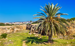 Tombs of the Kings, an ancient necropolis in Paphos Stock Photography