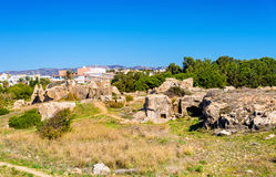 Tombs of the Kings, an ancient necropolis in Paphos Royalty Free Stock Photography