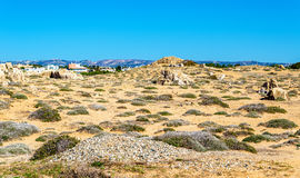 Tombs of the Kings, an ancient necropolis in Paphos. Cyprus Royalty Free Stock Image