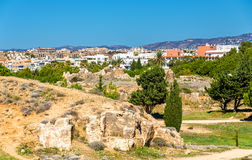 Tombs of the Kings, an ancient necropolis in Paphos Stock Image