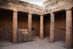 Tombs of the Kings Cyprus Stock Images