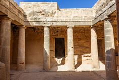 Tombs of the Kings Royalty Free Stock Photography