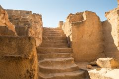 The Tombs of the Kings in Pahos Cyprus Stock Images