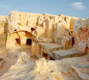 Tombs of the Kings (Paphos) Cypres Royalty Free Stock Image
