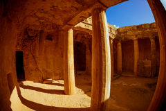 The Tombs of the Kings. Paphos, Cyprus Stock Photos