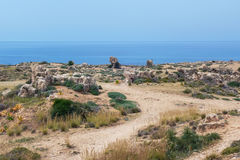 The Tombs of the Kings, Paphos, Cyprus Stock Image