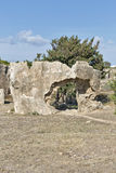 Tombs of the Kings in Paphos on Cyprus Stock Photos