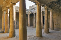 Tombs of the Kings in Paphos on Cyprus Stock Photo