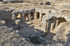 Tombs of the Kings in Paphos on Cyprus Stock Photography