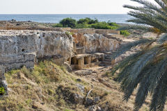 Tombs of the Kings in Paphos on Cyprus Royalty Free Stock Photo