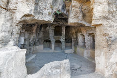 Tombs of the Kings in Paphos on Cyprus Royalty Free Stock Photography