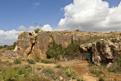 Tombs of the Kings in Paphos, Cyprus. Royalty Free Stock Photography