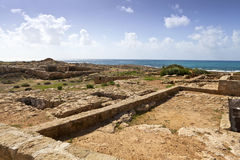 Tombs of the Kings in Paphos, Cyprus. Stock Photos
