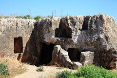 Tombs of the Kings, Paphos, Cyprus Royalty Free Stock Image