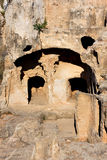 Tombs of the Kings, Paphos, Cyprus. UNESCO World Heritage Site stock photography
