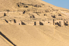Tombs of the Nobles in Aswan, Egypt Stock Photo