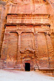 Tombs of Petra Royalty Free Stock Image