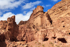 Tombs in Petra, Jordan Royalty Free Stock Image