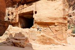Tombs , Petra-  Jordan. Stock Image