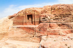 Tombs , Petra, Jordan Royalty Free Stock Photo