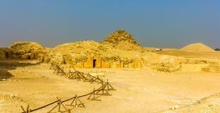 Tombs and pyramids at Saqqara Royalty Free Stock Images
