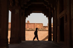 Tombs of royal family in Fatehpur Stock Images