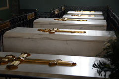 Tombs of Russian tsars Royalty Free Stock Photography