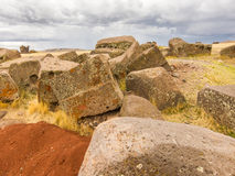 Tombs of Sillustani near Puno, Bolivia Stock Photography