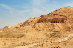 Tombs at the Temple of Queen Hatshepsut Stock Photography